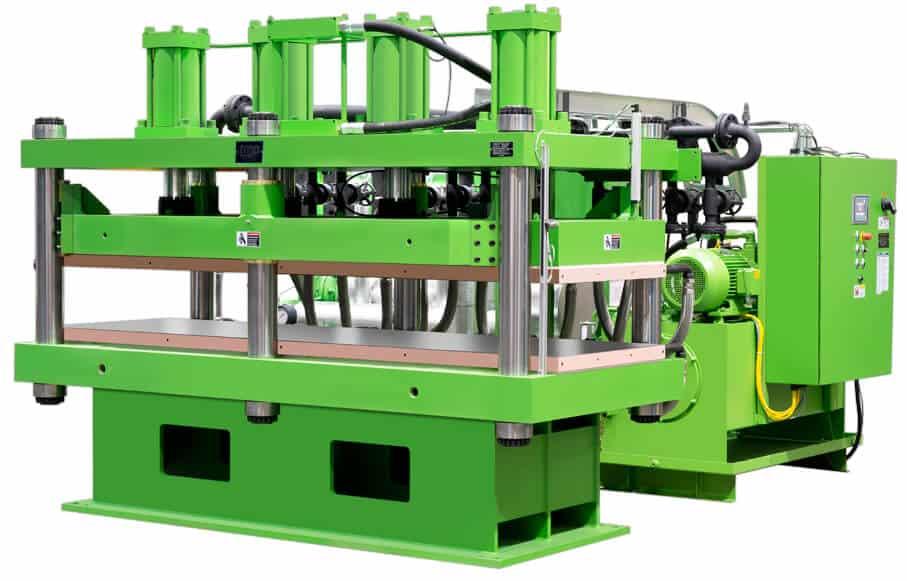 Bright Green 270 Ton Heated Press - texas hold'em Oil