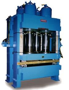 600 Ton Sideplate Hydraulic Press