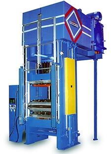 850 Ton Sideplate Hydraulic Press