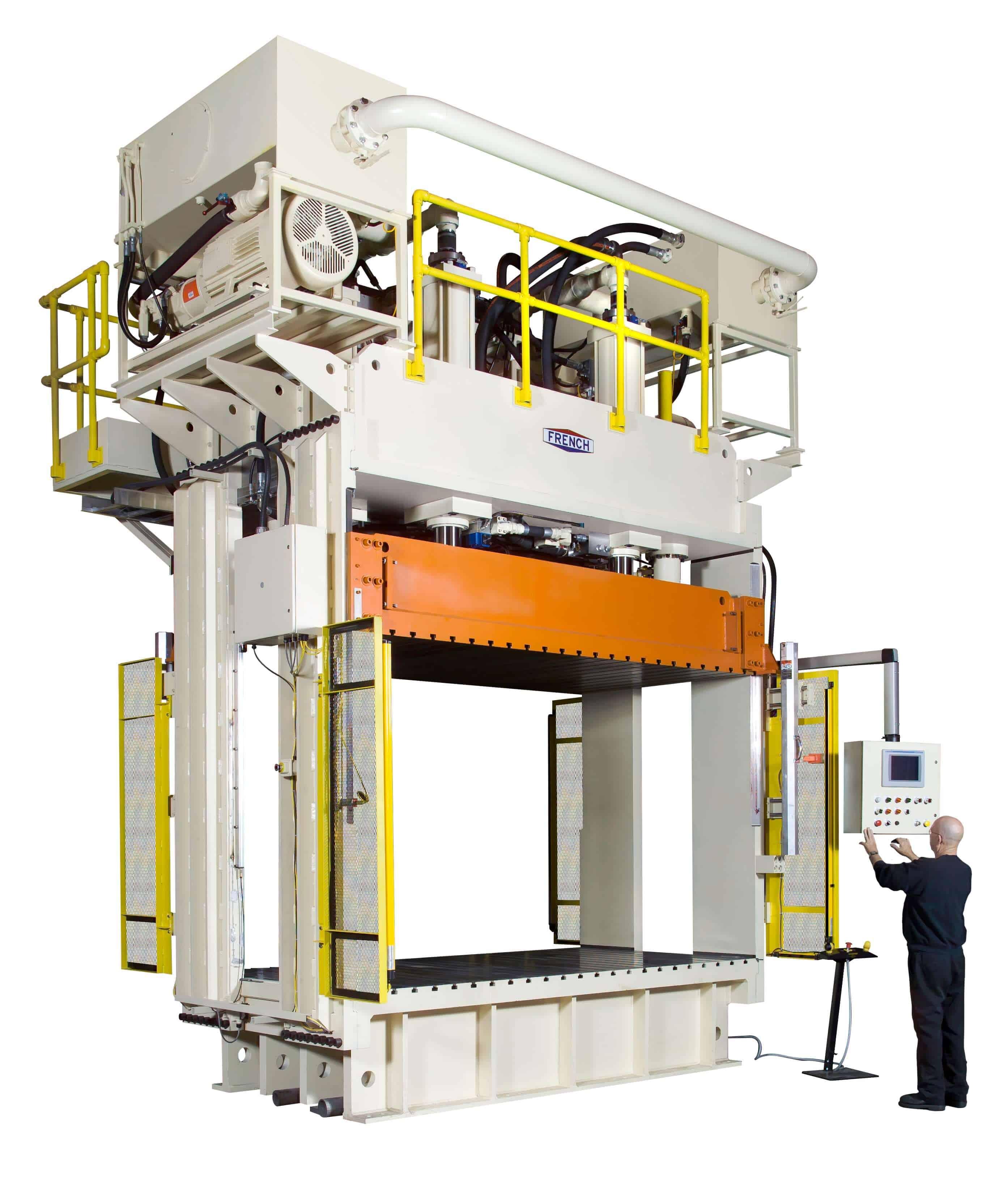 365 casino Oil's 500-Ton Sideplate Hydraulic Press
